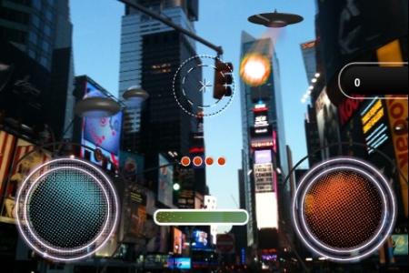 "Screenshot AR-Game ""Look-Up"""